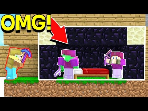 Thumbnail: WE ACTUALLY GOT AWAY WITH THIS... (Minecraft YOUTUBER BED WARS)