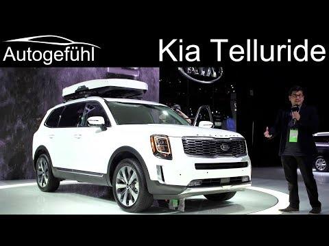Kia going BIG: all-new Kia Telluride 8-Seater SUV REVIEW - Autogefühl