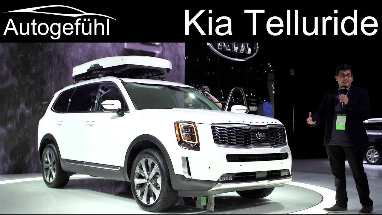 8 Passenger Suv >> Kia Going Big All New Kia Telluride 8 Seater Suv Review Autogefuhl