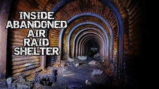 Going down Inside ABANDONED Air Raid Shelter - Abandoned Scotland