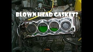 DIY Head Gasket Sealant Repair for blown head gasket