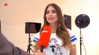 Cathy Hummels zeigt WM-Shirt und plaudert über Baby Ludwig