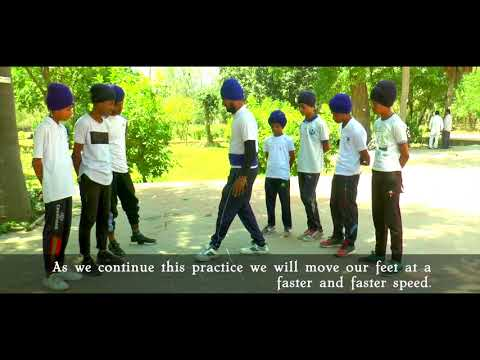 Learn Gatka step-by-step: Basic Pentra (Lesson 1)
