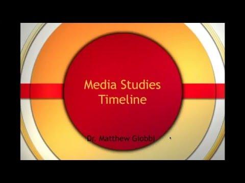 A History of Media Studies