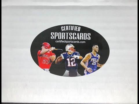 Certified Sportscards - Multi-Sport Box 2