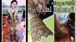 #Superशादी😍 :  Finally My Bridal Mehndi Day | 2 Days To Go | Last Days At Home | Super Style Tips