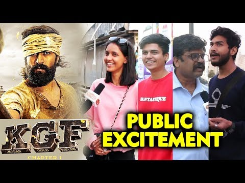 KGF | First Day First Show | PUBLIC EXCITEMENT | Superstar Yash