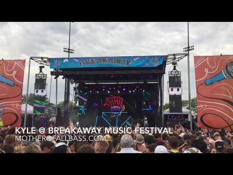 KYLE Performing 'Really? Yeah!' at Breakaway Music Festival in Grand Rapids