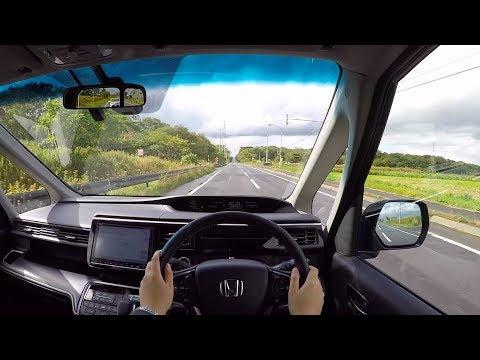 【Test Drive】2017/2018 New HONDA STEPWGN SPADA HYBRID Honda SENSING - POV City Drive
