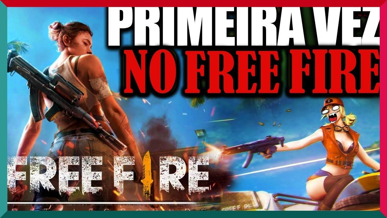 MINHA PRIMEIRA VEZ NO FREE FIRE