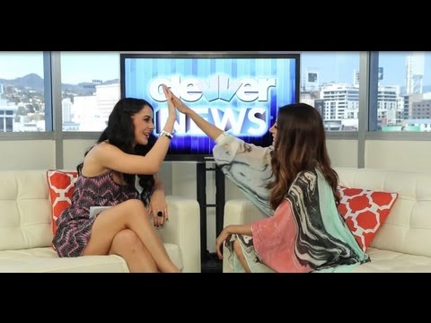 Noureen DeWulf Talks Charlie Sheen and Lindsay Lohan!