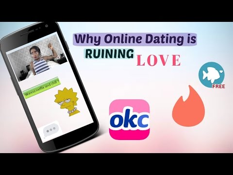Online dating is ruining love