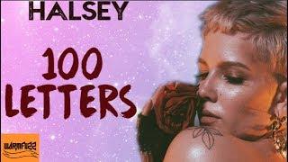 Halsey -100 Letters (Karaoke/Instrumental)