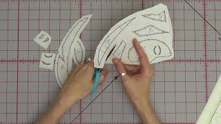 Fusible Applique Basics - How to Trace, Cut, and Fuse Applique Shapes