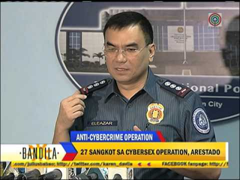 27 arrested for cybersex operations in Cabanatuan