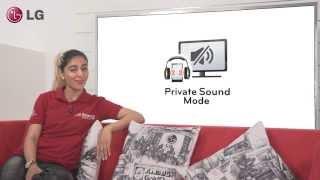 LG Audio - Private Sound Mode