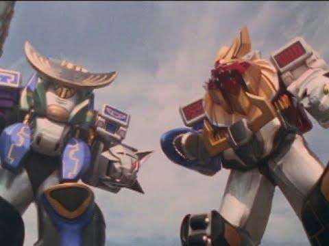 Power Rangers Wild Force - Megazord Battle   Episode 30