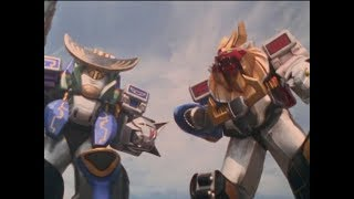 "Power Rangers Wild Force - Megazord Battle | Episode 30 ""Team Carnival"""