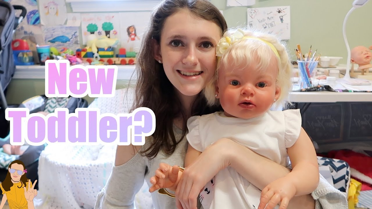 Reborn Toddler Expecting Where S My Baby Kelli Maple