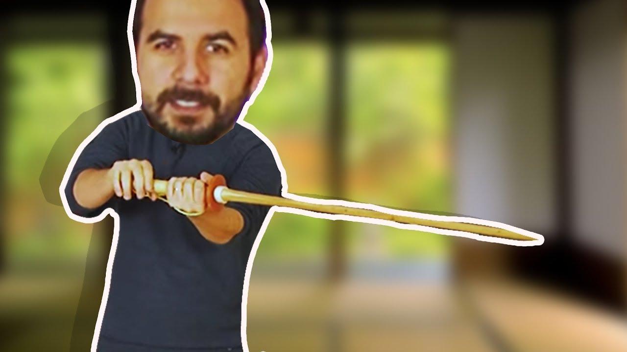 Samuray Kılıcı ile Tek Vuruşta Kağıtları Kesebilir Misin?
