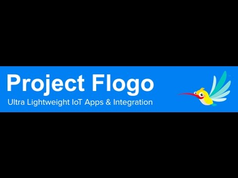 Project Flogo Live Demo (Ultra-Lightweight Open Source IoT Integration)