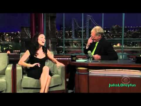 Julia Louis-Dreyfus on David Letterman