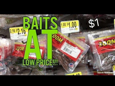 These Fishing Lures Are Priced for CHEAP- $1!!!