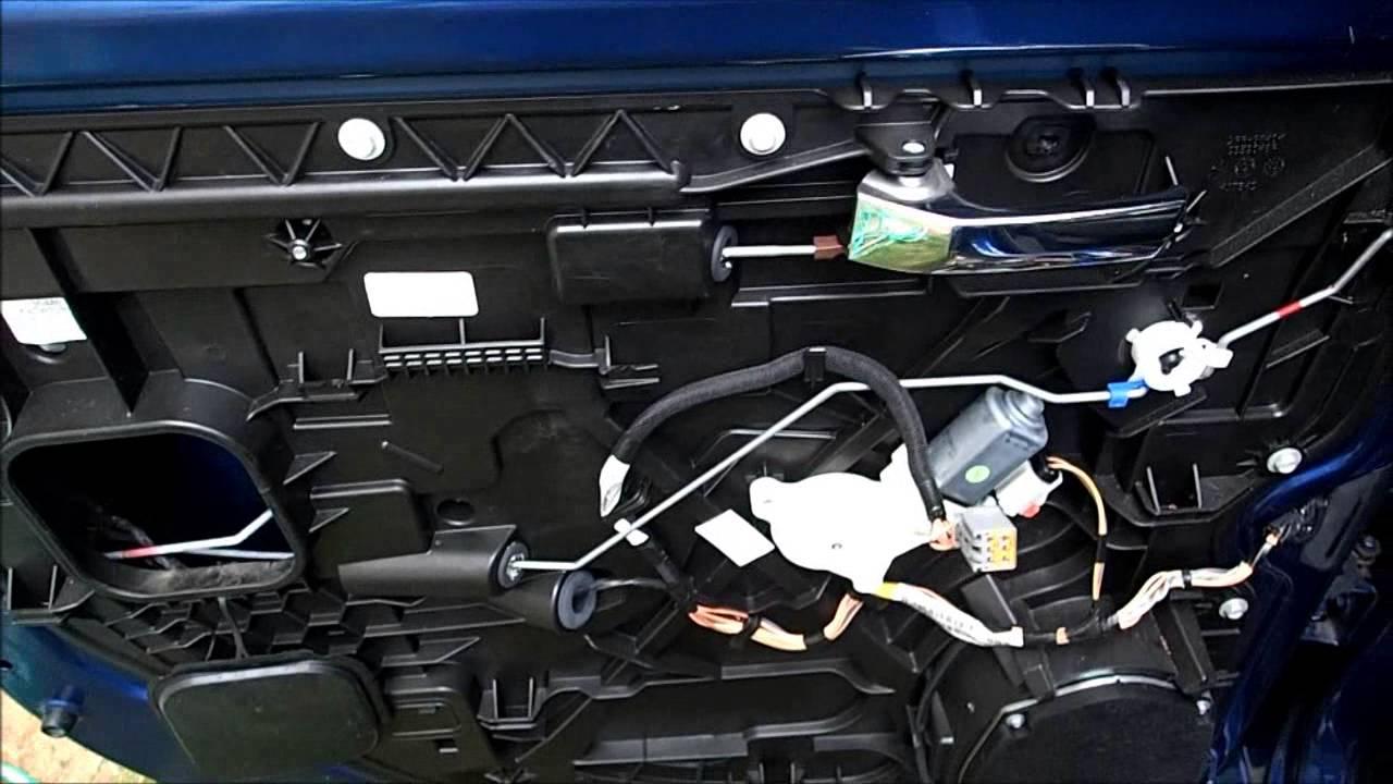 2009 ram 1500 crew cab rear door window regulator and latch [ 1280 x 720 Pixel ]