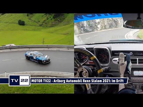 MOTOR TV 22: Arlberg Automobil Renn Slalom 2021 - Onboard und im Drift am Arlberg mit Mario Kuprian