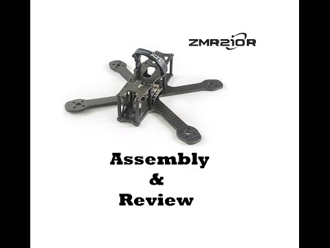 FPVModel ZMR210R Drone Racing Frame - Assembly & Review