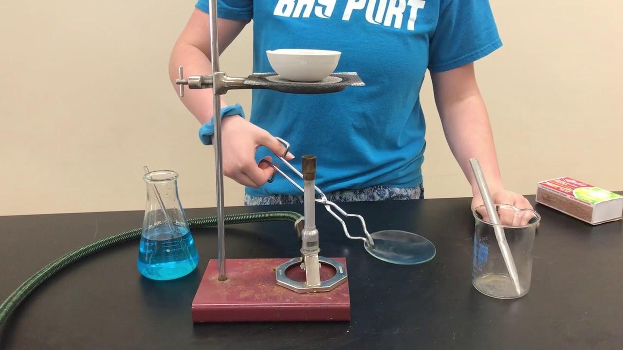 Chem Lab: Evaporating Dish, Watch Glass, Wire gauze and ...