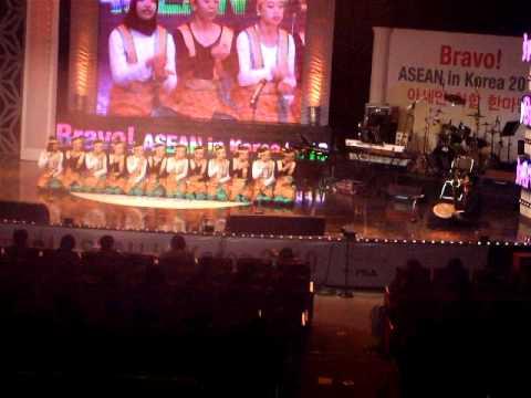 BRAVO! ASEAN in Korea @Arirang TV : Busan Saman Performance, Indonesia