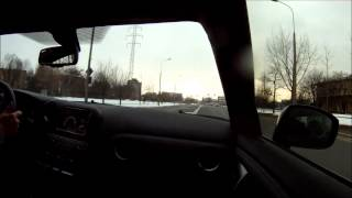 Nissan GTR P800 Switzer drifting in town