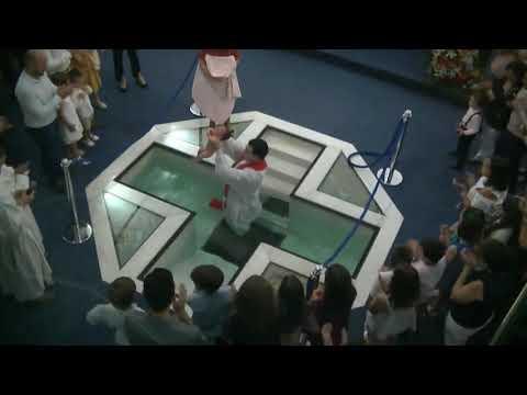 BAUTISMO POR INMERSIÓN - PENTECOSTÉS 2019