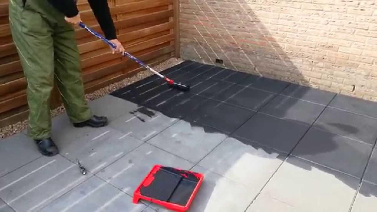 Keuken Tegels Verven : Tegels verven met betonverf tc belbin
