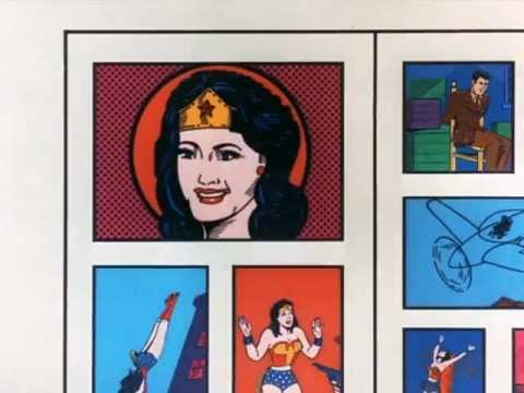 WONDER WOMAN Television Series Intro Lynda Carter (1976-1977) Season 1