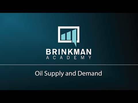 Oil Supply and Demand | Rob Brinkman Academy