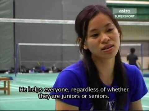 Lee Chong Wei Interview after Beijing Olympic Part 5