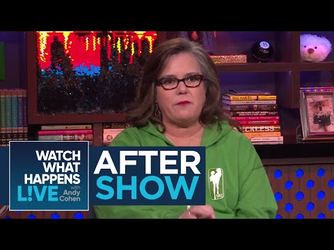 After Show: Rosie O'Donnell On Patti Lupone Shading Madonna | WWHL