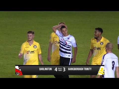 Darlington 4-3 Gainsborough Trinity - Vanarama National League North - 2017/18