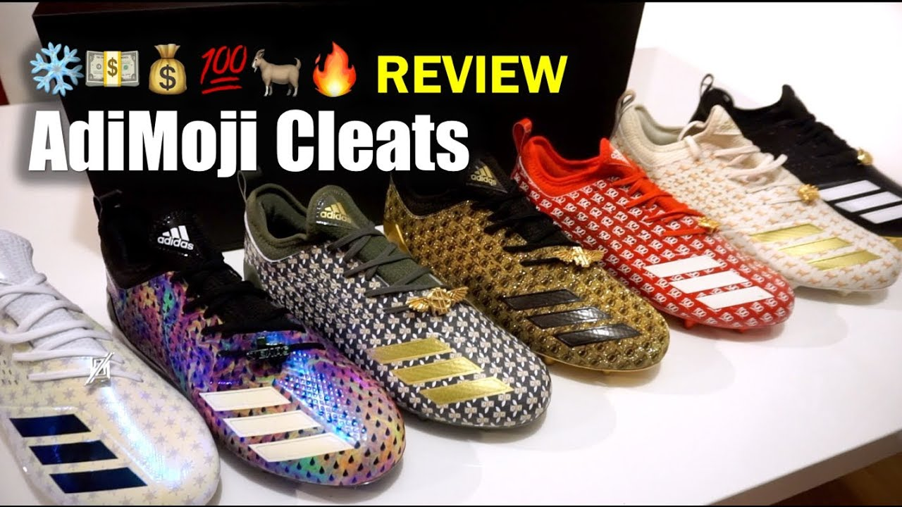 ADIDAS Adimoji ❄️💵💰💯🐐🔥 Cleat Review