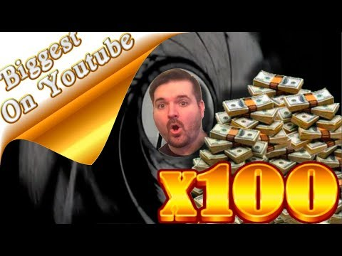 💎💎💎BIGGEST WIN ON YOUTUBE💎💎💎 On James Bond 007 Slots W/ SDGuy1234