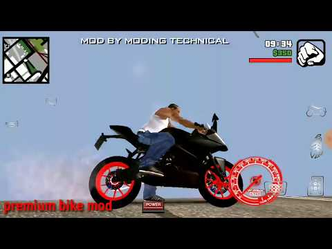 ⚫GTA SA android enable graphic mode with Ghost Rider mod