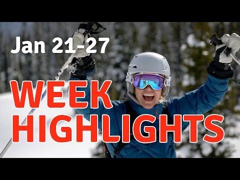 January 21-28 Tour 608 Heli-skiing Highlights