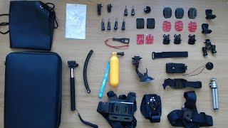 Greleaves 50 in 1 GoPro accessory kit in-depth review
