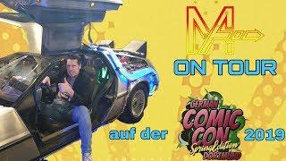 ON TOUR: GERMAN COMIC CON DORTMUND,  SPRING EDITION  2019
