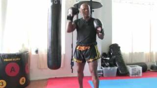 How to Do a Kickboxing Back Fist