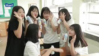 수원삼성 선수들이 수원 북중학교에 떴다