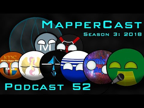 MapperCast Podcast Episode 52 - The Creator of Mapping (7/22/2018)