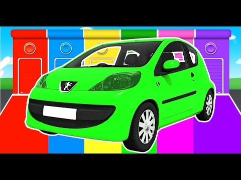 Thumbnail: Learn Vechicles for Kids - Nursery Rhymes & Cars Learning Educational Video w Color for Children